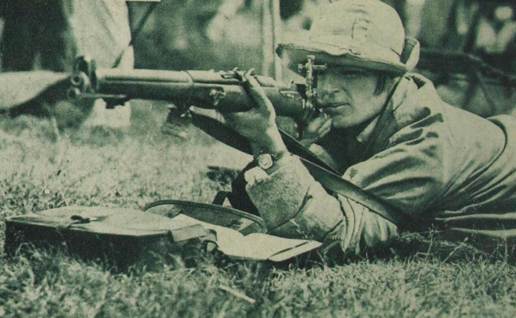 Marjorie shooting during the King's Cup