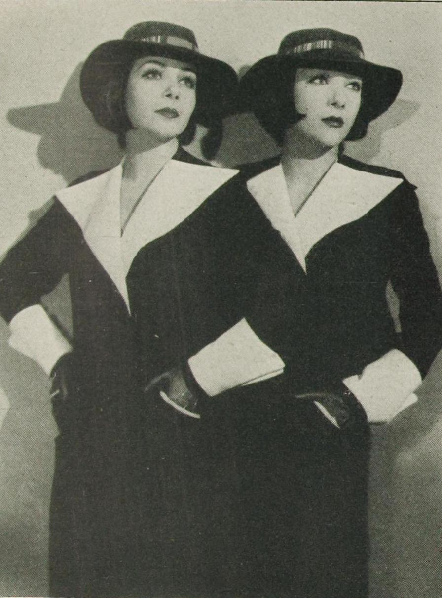 the sisters in 1933, after returning to Germany